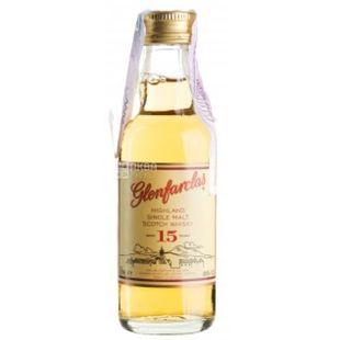 Glenfarclas 15yo, Whiskey, 0.05 L
