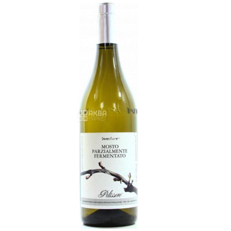 Pelissero Mosto Parzialmente Fermentato, Вино белое сладкое, 0,75 л