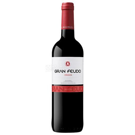 Bodegas Julian Chivite Crianza Gran Feudo, Вино красное сухое, 0,75 л