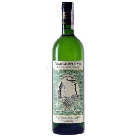 Chateau Bellevue Blanc, Вино белое сухое, 0,75 л