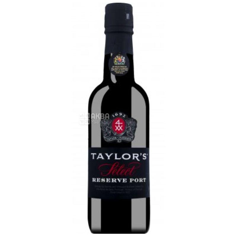 Taylor's Select Reserve Ruby, Вино красное сладкое, 0,375 л