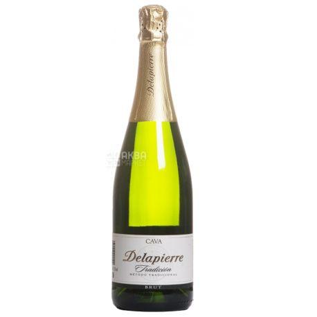 Delapierre Cava Tradicion Brut, Шампанське, 0,75 л