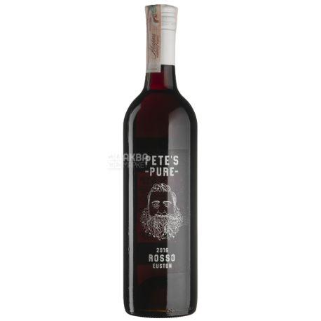 Pete's Pure Rosso, Вино красное сухое, 0,75 л