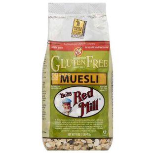 Bob's Red Mill, 453 г, Мюсли Бобс Ред Милл, овсяные, фрукты, орехи, тыквенные семечки, сухой завтрак, быстрого приготовления