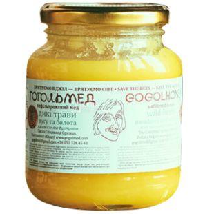 ГогольМед, Мед из цветков диких трав луга и болота, 400 г