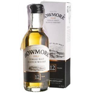 Bowmore 12 yo, Виски, 0,05 л