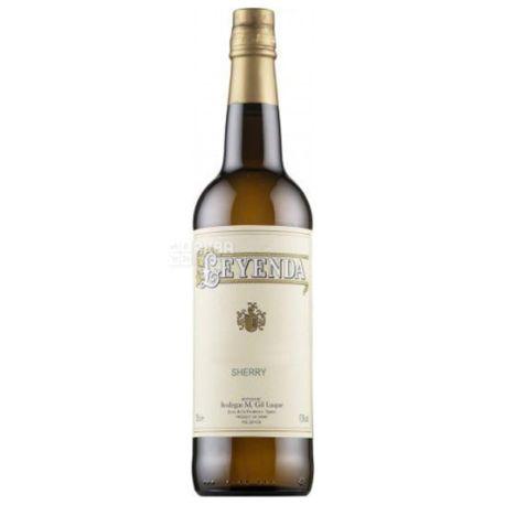 Valdespino, Oloroso Leyenda, Вино белое сухое, 0,75 л