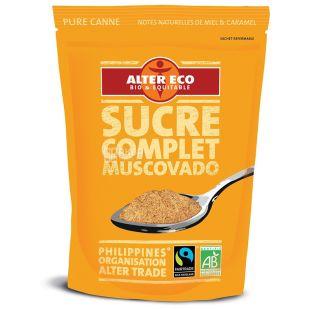 Alter Eco, Цукор-пісок тростинний органічний нерафінований, 500 г