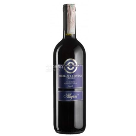 Corte Giara, Merlot Corvina, Вино красное сухое, 0,75 л