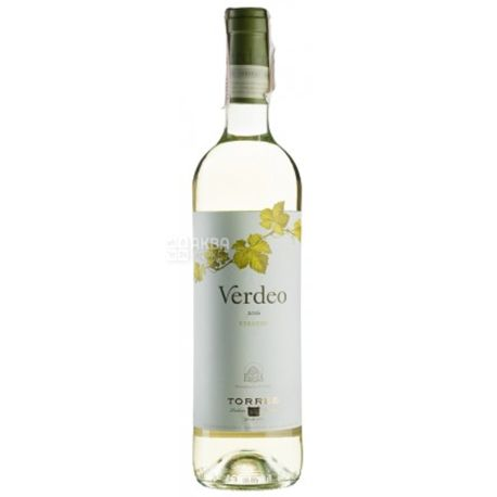 Seleccion de Torres, Verdeo, Вино белое сухое, 0,75 л