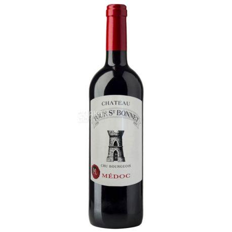 Chateau Tour Saint Bonnet, Medoc 2014, Вино красное сухое, 0,375 л