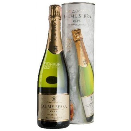 J.Garcia Carrion, Игристое вино белое брют Cava Jaume Serra Brut, 0,75 л