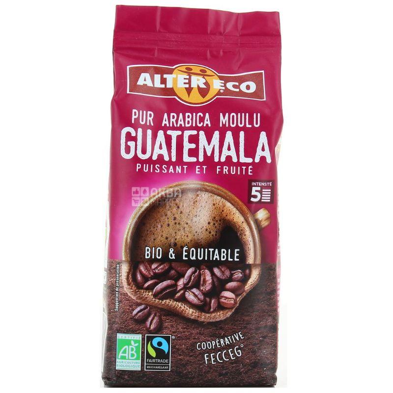 Alter Eco, Pur Arabica Guatemala, 260 г, Кофе Альтер Эко, Гватемала, молотый, органический