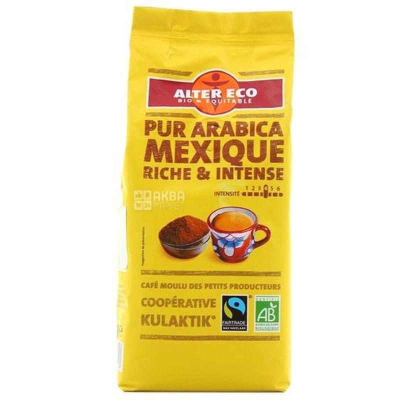 Alter Eco Pur Arabica Mexique, 260 г, Кофе Альтер Эко, Мексика, молотый, органический
