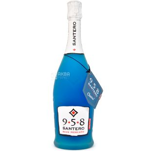 Santero Blu Moscato Jeans, Шампанське, 0,75 л