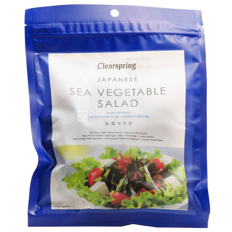 Clearspring, Салат з морських водоростей, 25 г