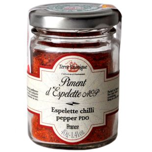 Terre Exotique, Pepper Chilli with Espelette, 40 g