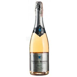 Brut Rose, Francois Montand, Игристое розовое брют, 0,75 л