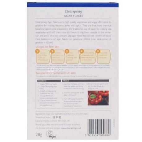 Clearspring, Thickening Algae Agar Thickener, 28 g