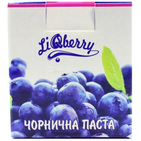 Liqberry, Паста из черники органическая, 550 мл