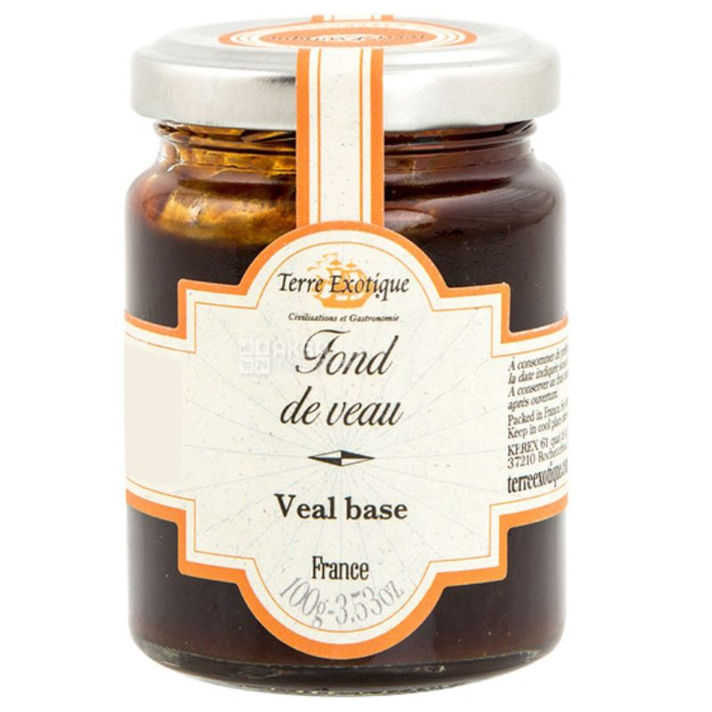 Terre Exotique, Veal Broth Concentrated, 100 g