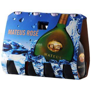 Mateus Rose Multi-Pack, Sogrape Vinhos, Wine Rose Semi-dry, 4 * 0.25 l
