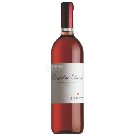 Chiaretto Bardolino, Zenato, Вино розовое сухое, 0,75 л