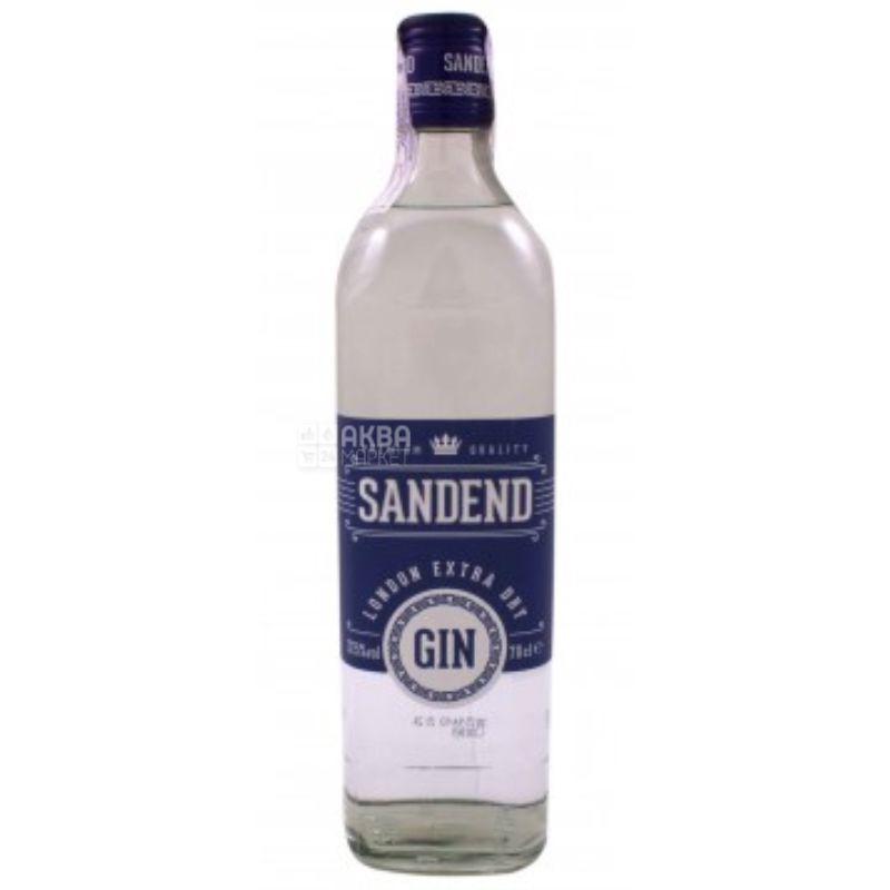 Sandend Extra Dry Gin, Джин, 0,7 л