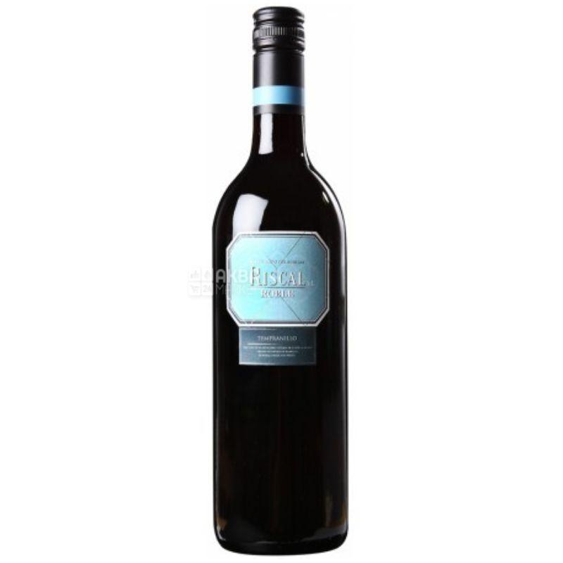 Riscal Roble, Vinos blancos de Castilla, Вино красное сухое, 0,75 л