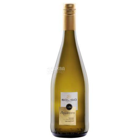 Prosecco Treviso - Tappo Stelvin, Soligo, Игристое белое вино, 0,75 л