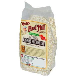 Bob's Red Mill, Organic Buckwheat Cream Porridge, gluten free, 510 g