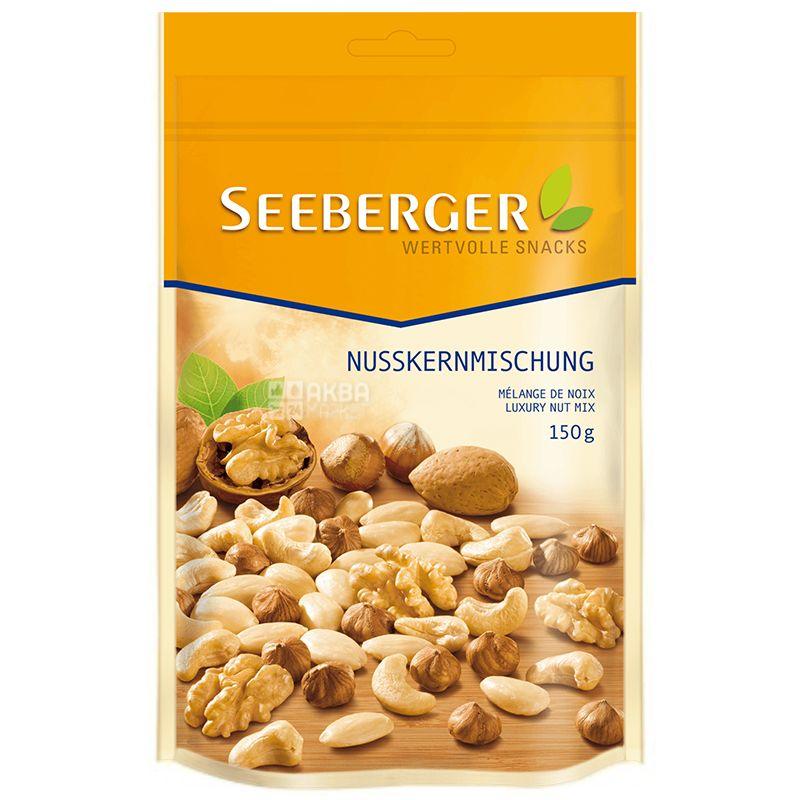 Seeberger, Ассорти из ядер орехов, 150 г