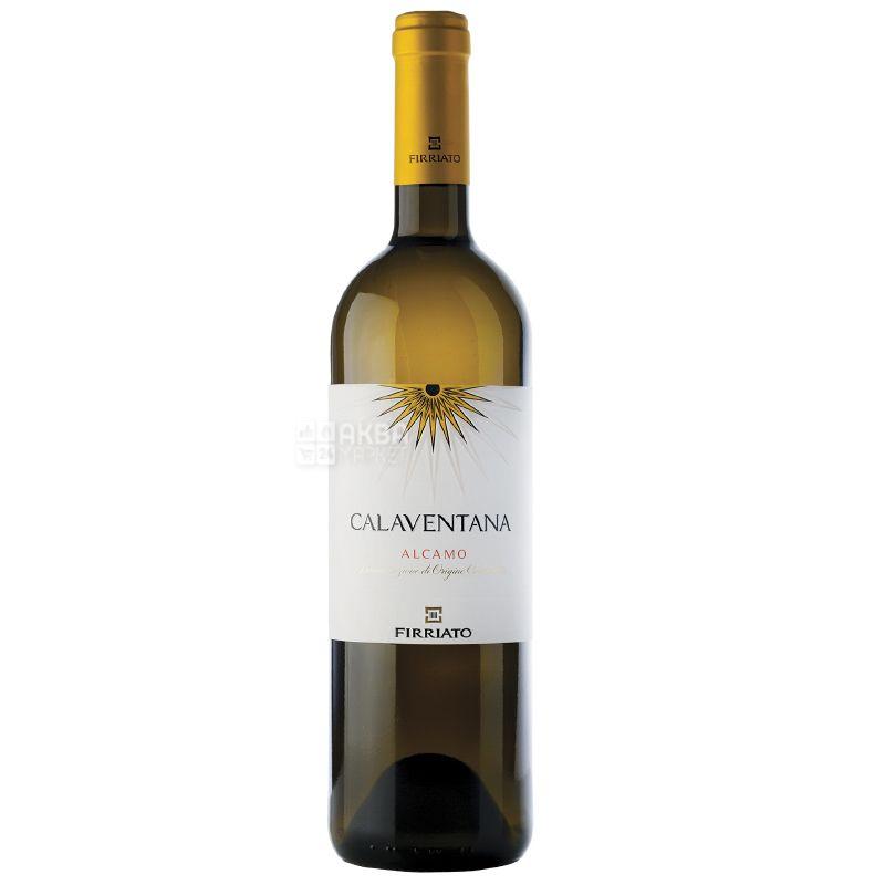 Calaventana Alcamo, Firriato, Вино белое сухое, 0,75 л