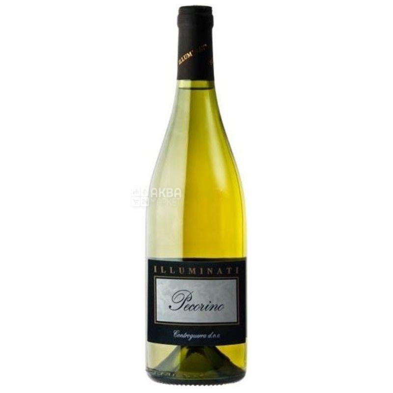Dino Illuminati, Pecorino Bianco, Вино белое сухое, 0,75 л