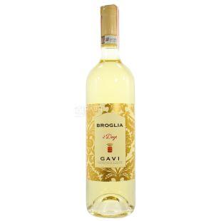Broglia, Gavi il Doge, Вино белое сухое, 0,75 л