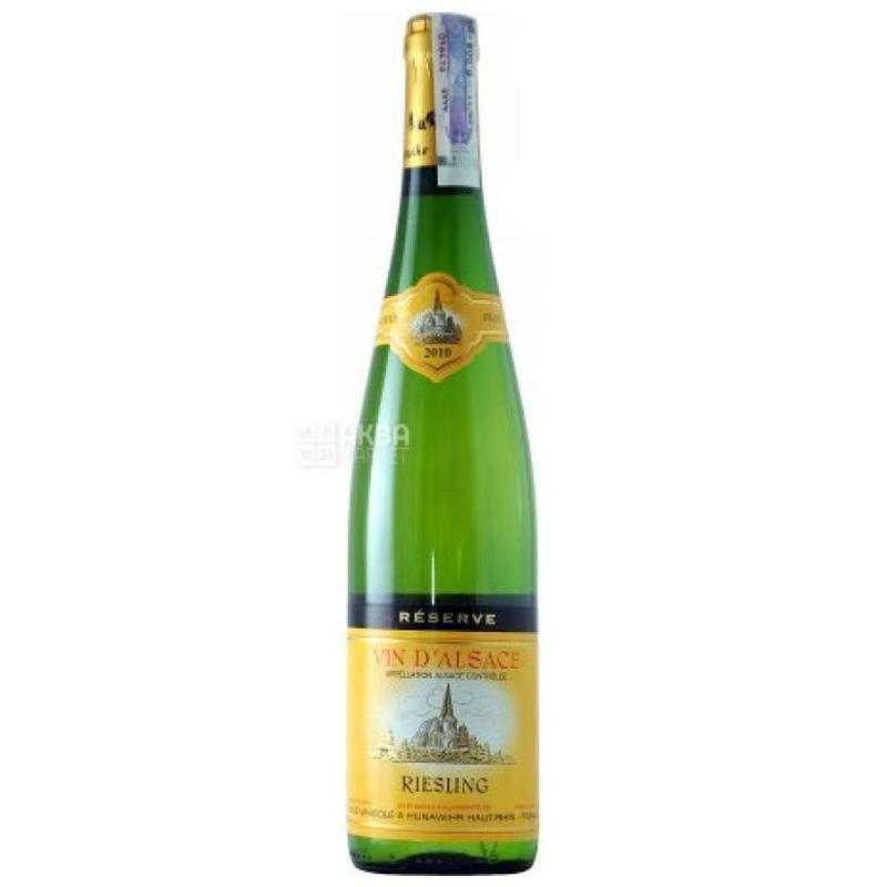 Hunawihr, Riesling Reserve Sec, Вино белое сухое, 0,75 л