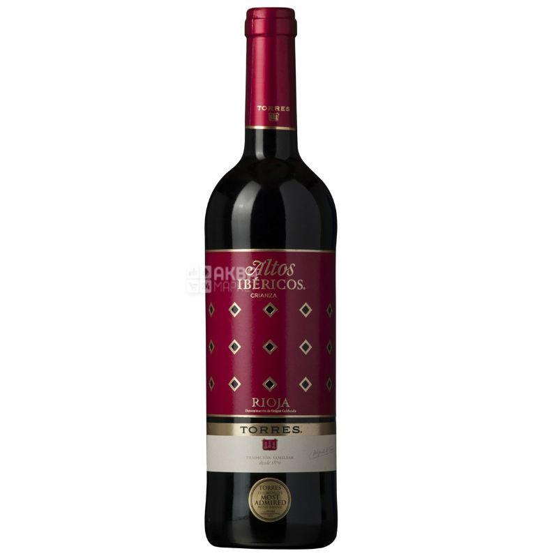 Altos Ibericos Crianza, Soto De Torres, Вино красное сухое, 0,75 л