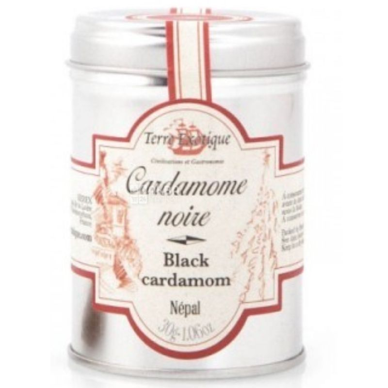 Terre Exotique, Black Cardamom from Nepal, 30 g