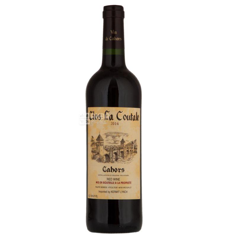 Clos la Coutale, Bernede et fils, Вино сухе червоне, 0,75 л