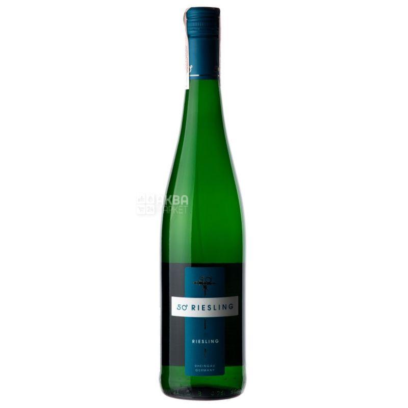 Riesling 50° Medium, Schloss Johannisberger, Вино белое полусладкое, 0,75 л
