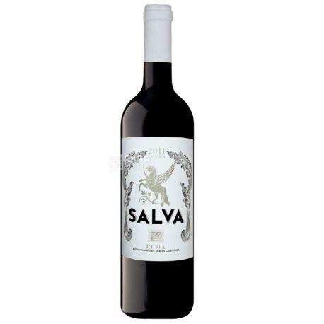 Salva, Bodegas Crianza 2011, Вино красное сухое, 0,75 л