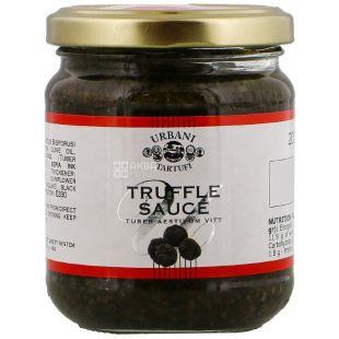 Urbani Tartufi, Champignons and Summer Truffles Sauce, 200 g
