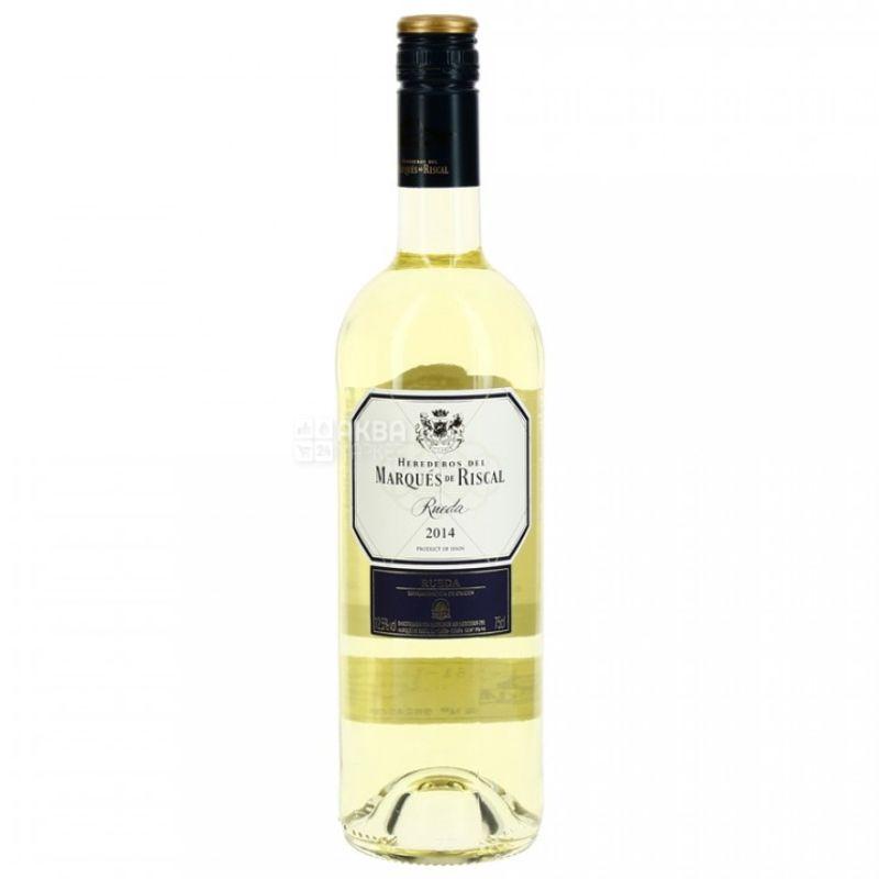 Marques de Riscal, Rueda, Вино белое сухое, 0,75 л