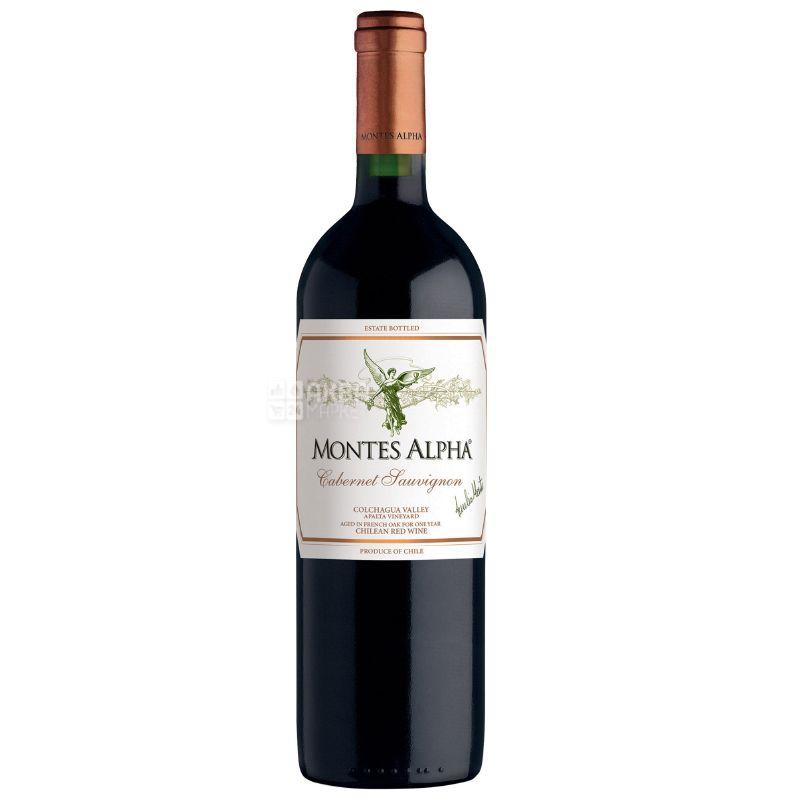 Montes, Вино красное сухое, Cabernet Sauvignon Alpha, 375 мл