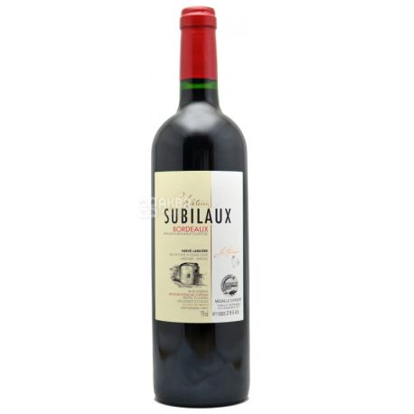 Chateau Subilaux, Вино красное сухое, 0,75 л