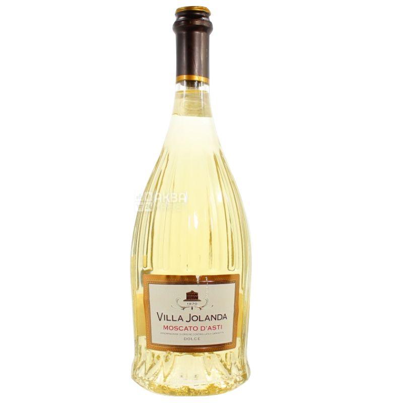 Santero, Вино белое сладкое, Moscato d'Asti Villa Jolanda, 0,75 л