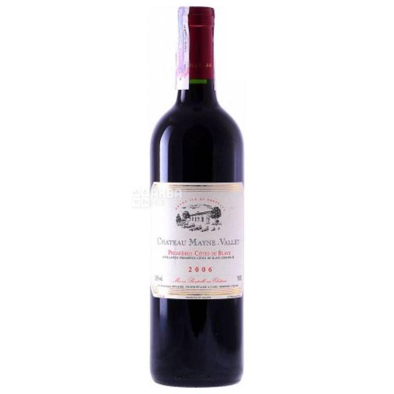 Chateau Mayne-Vallet, Вино красное сухое, 0,75 л