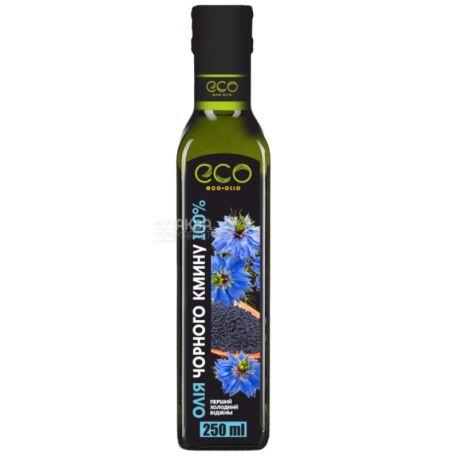 Eco-Olio, Масло из семян черного тмина, 250 мл