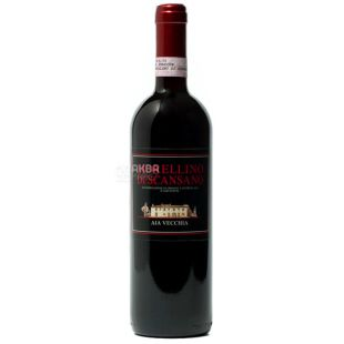 Aia Vecchia, Вино червоне сухе, Morellino di Scansano, 0,75 л
