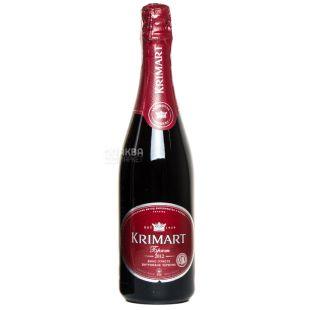 Artemovsk Winery, Вино ігристе червоне брют, Krimart, 0,75 л